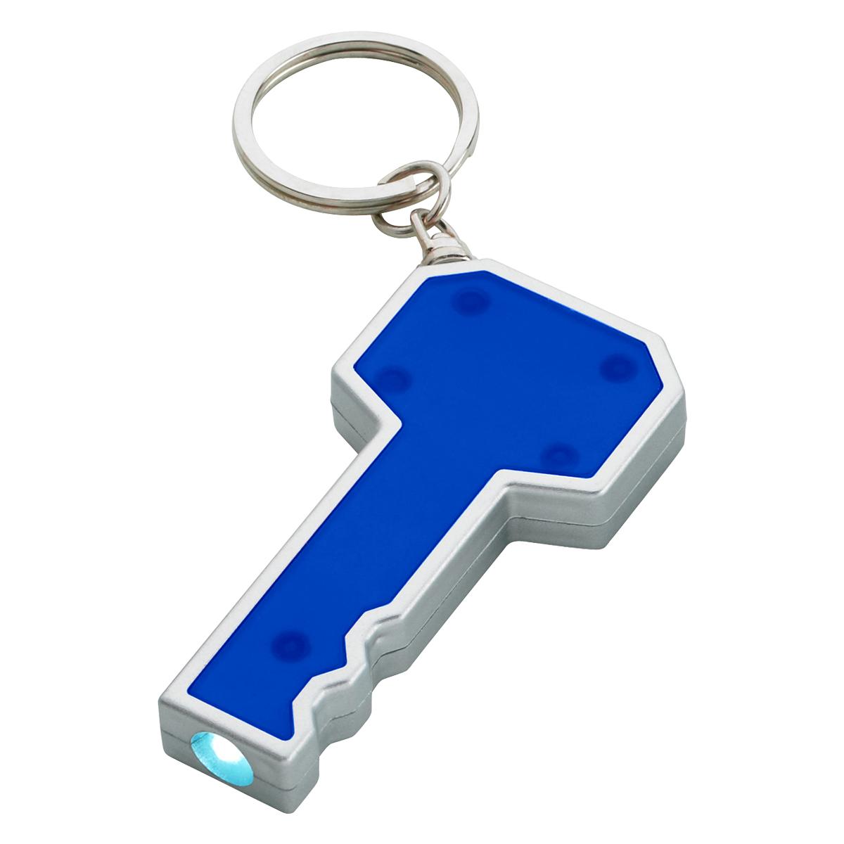 133 - Llavero en forma de llave con LED