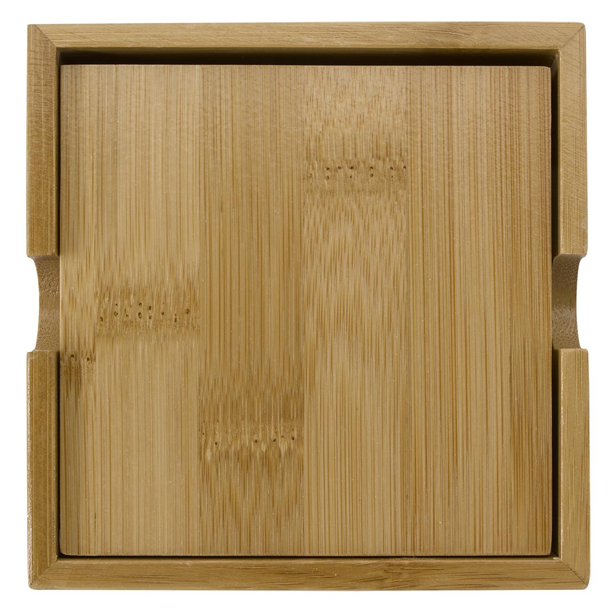 2209 - Set de porta vasos de bambú