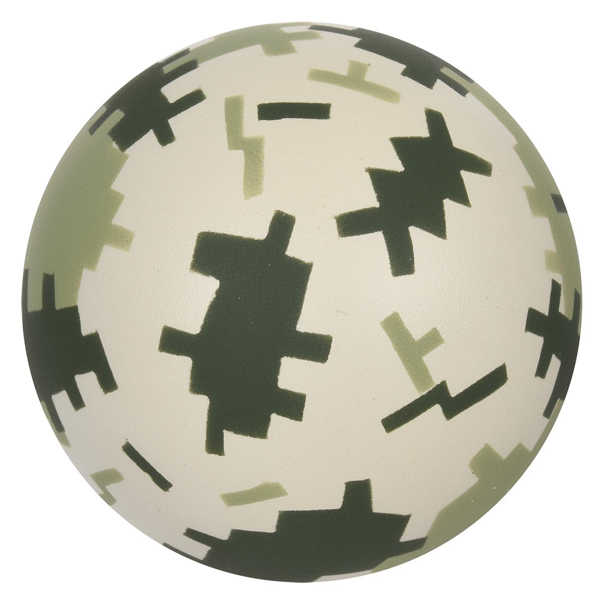 4092 - Pelota anti-estrés tonos camuflaje