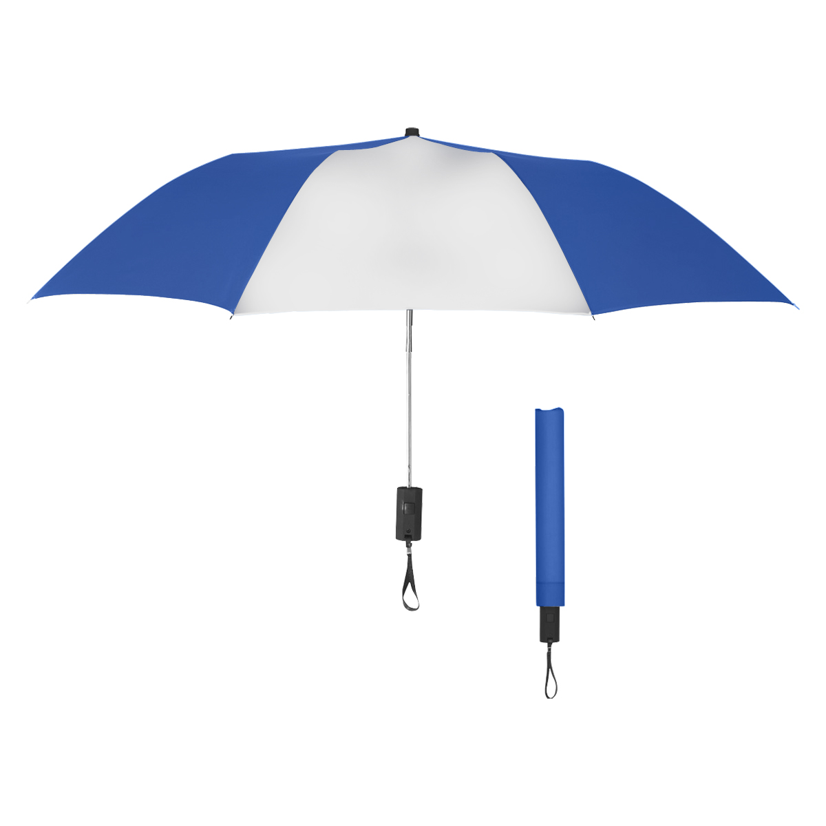 4135 - Paraguas automático doblable