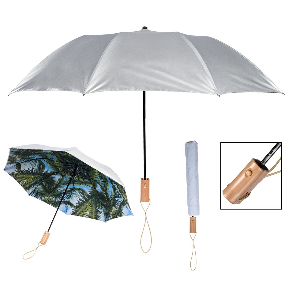 """4137 - Paraguas Diseño Palmera de 46"""""""