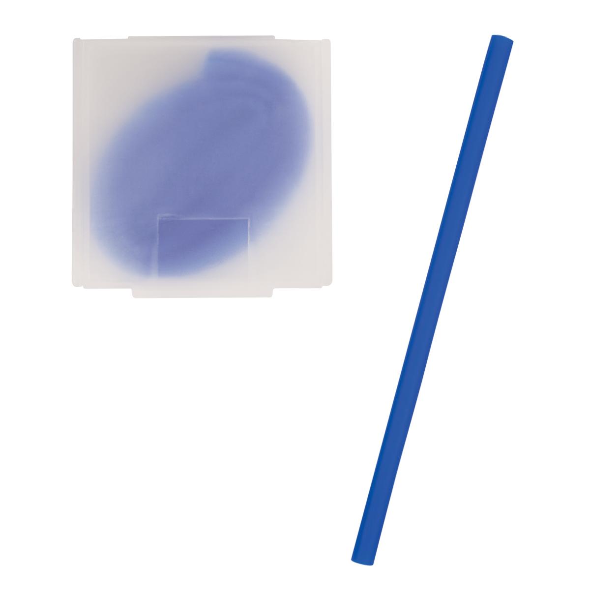 5201 - Popote de silicón en estuche