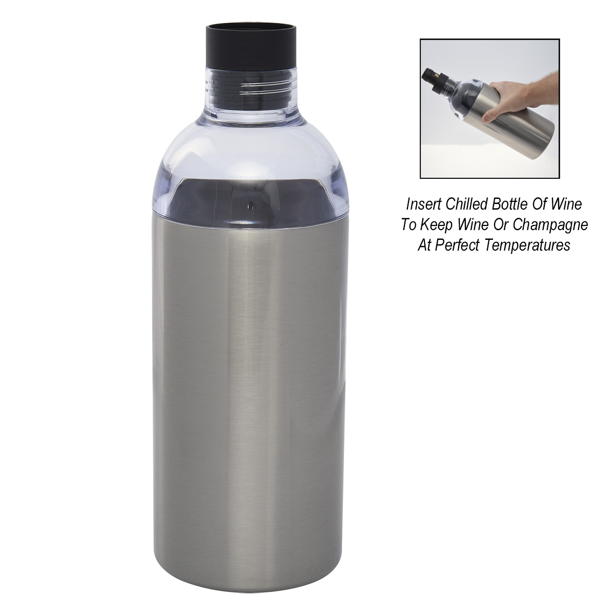 5342 - Botella Insulador de Acero Inoxidable para Vino