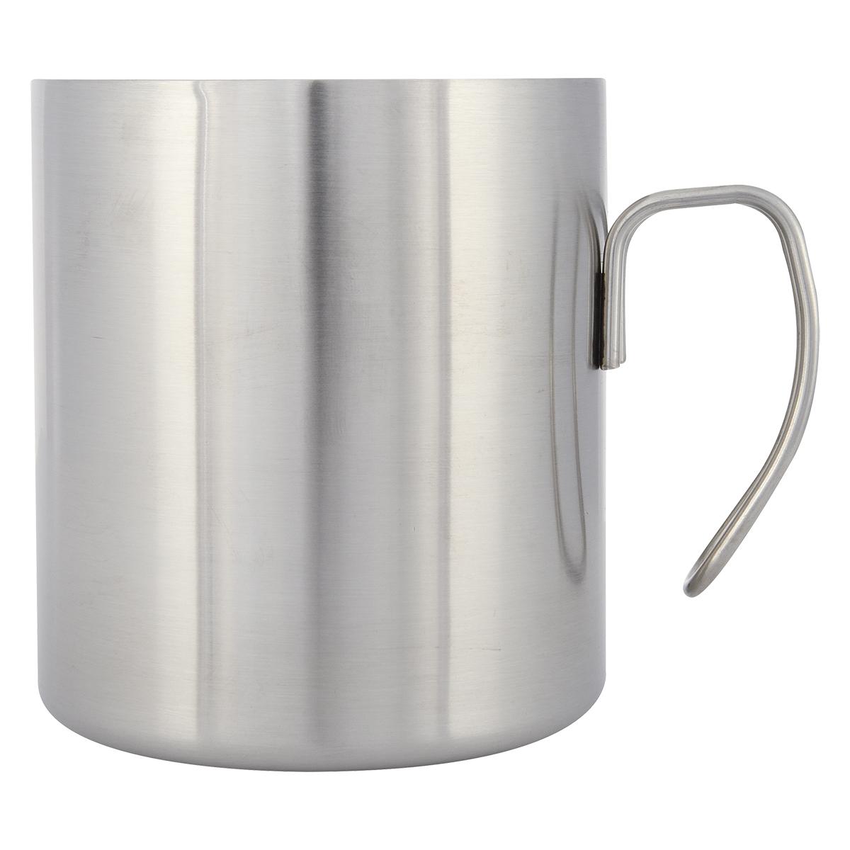 5373 - Taza de Acero Inoxidable Rolla 354 ml.