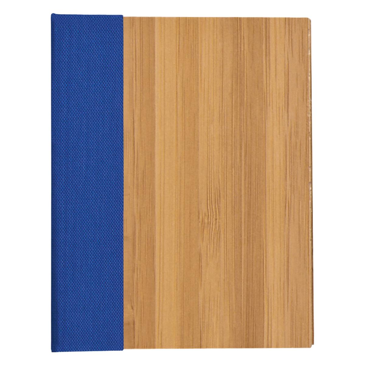 6124 - Bloc de Notas y Banderas Adhesivas con Cubierta de Bambú