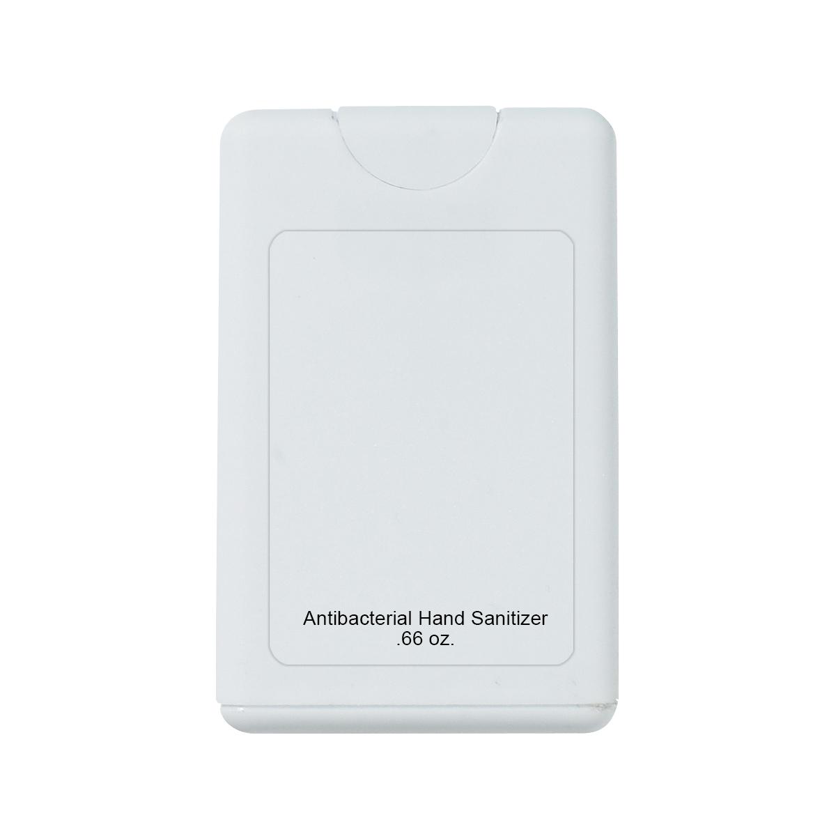 9051 - Antibacterial de manos en spray con forma de tarjeta , contiene 0.66 Oz. (19.51 ml)