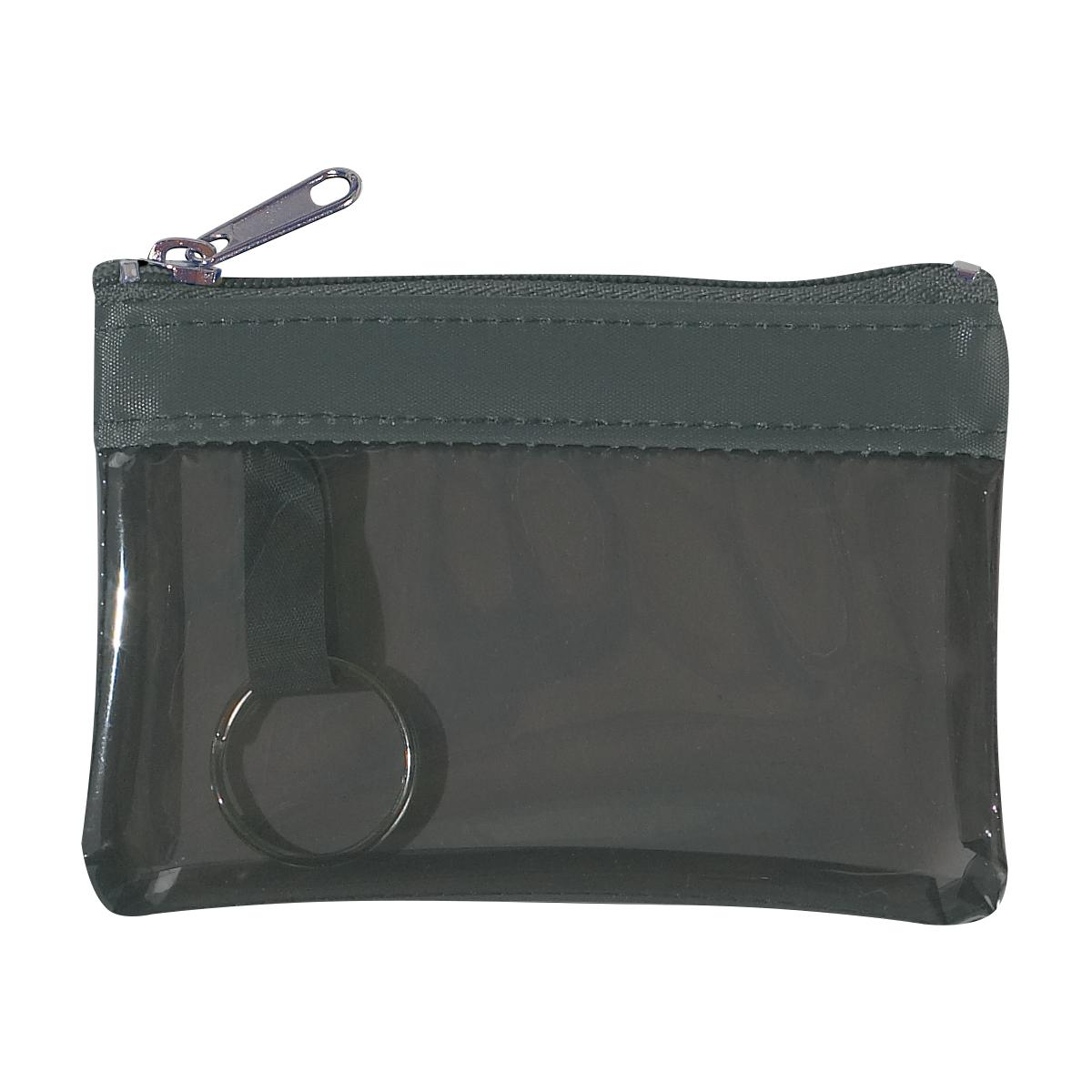 9480 - Monedero translúcido con zipper