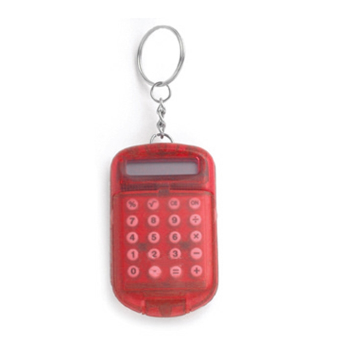 C03-0038 - Llavero con Calculadora y Argolla Metálica