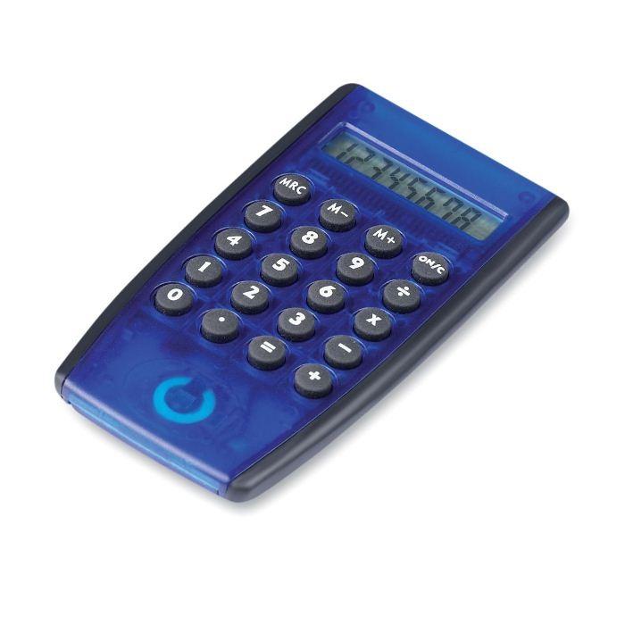 C03-0039 - Calculadora Plástica con Pantalla LCD de 8 Dígitos