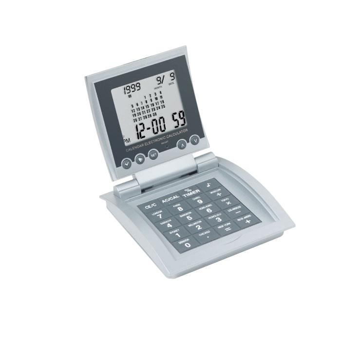 C04-0064 - Reloj Digital con Calculadora y Alarma 64