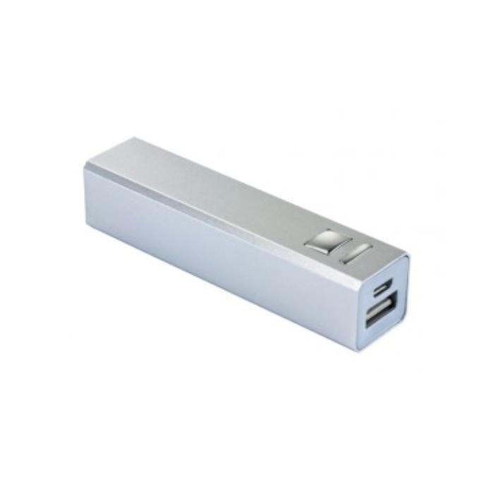 C05-0185 - Batería Portátil de Aluminio, 2200 mAh