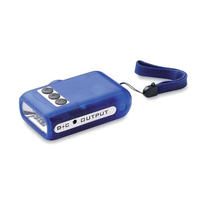 C06-0262 - Linterna LED Dínamo sin Baterías