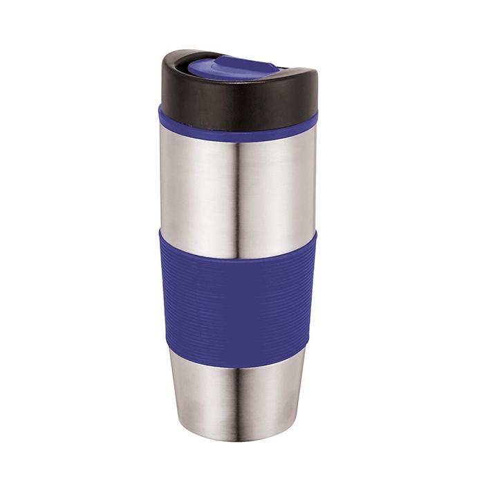 C06-0301 - Vaso Térmico de Acero Inoxidable con protector Aislante