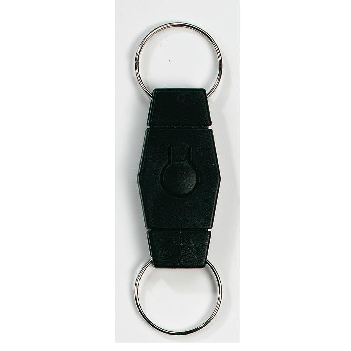 C08-0123 - Llavero Separable de Plástico con Botón