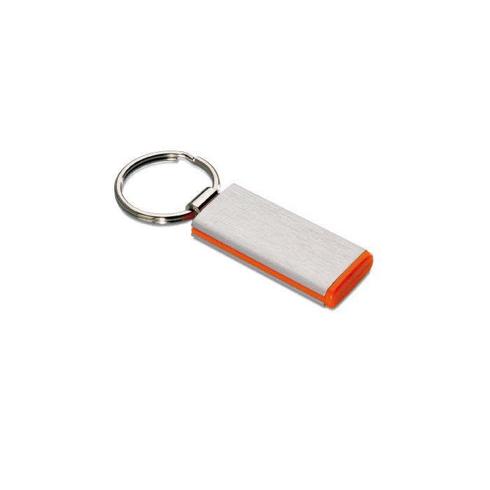 C08-0154 - Llavero Rectangular de Metal con Aluminio