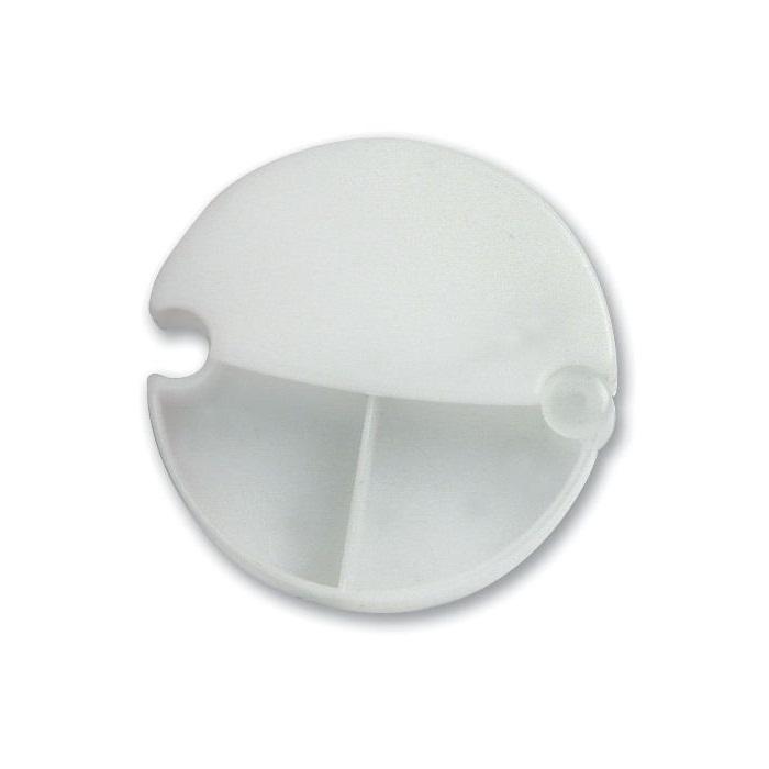 C11-0001 - Pastillero Plástico Media Luna