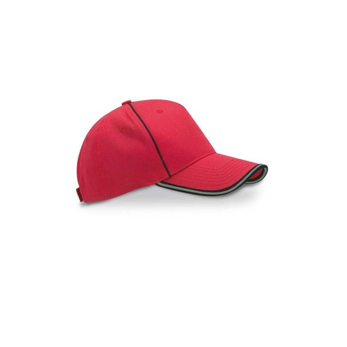 IT3372.SOB - Gorra de Béisbol con Ojales y Botón