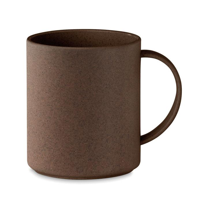 MO6107 - Taza Ecológica Clásica de Cáscara de Café
