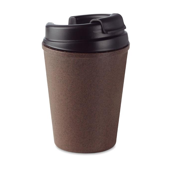 MO6108 - Vaso Ecológico de Doble Pared y Tapa Antiderrames