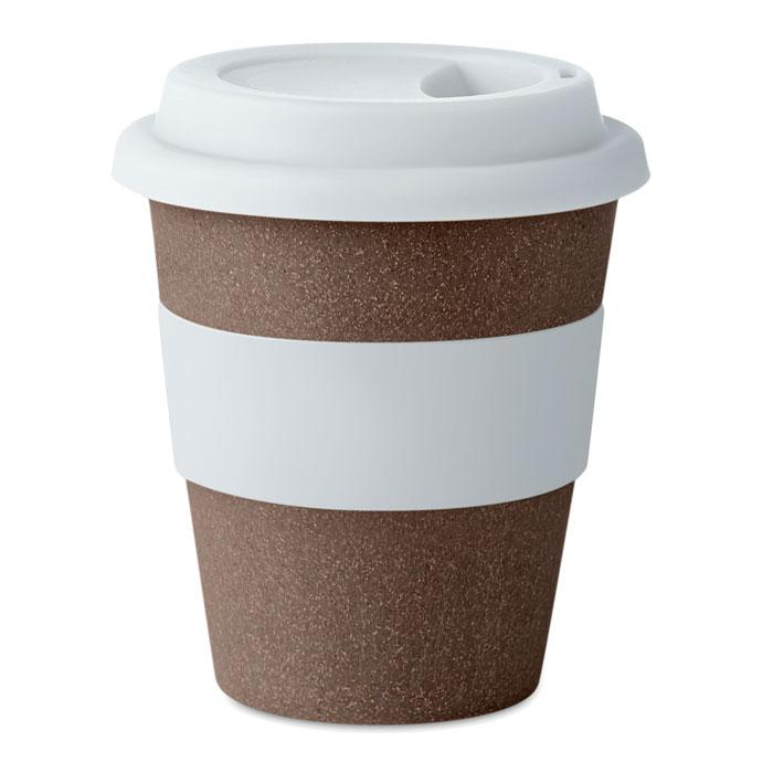 MO6109 - Vaso Ecológico con Tapa tamaño Espresso