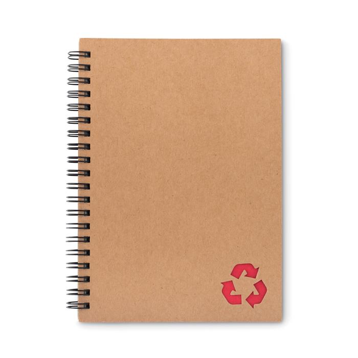 MO9536 - Cuaderno de Anillas de Cartón y con Papel de Piedra