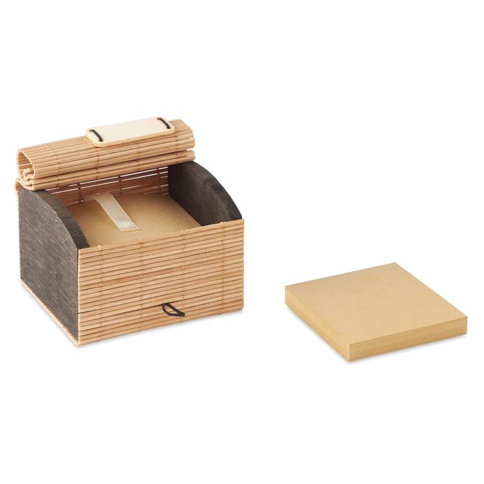 MO9571 - Bloc de notas bambú 500 hojas
