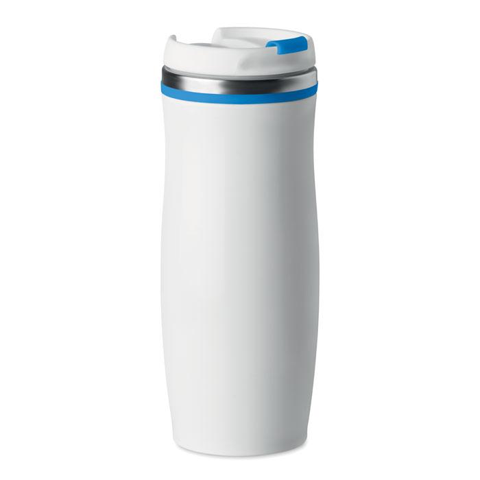 MO9710 - Vaso Térmico de Acero Inoxidable con Tapa Anti Derrames