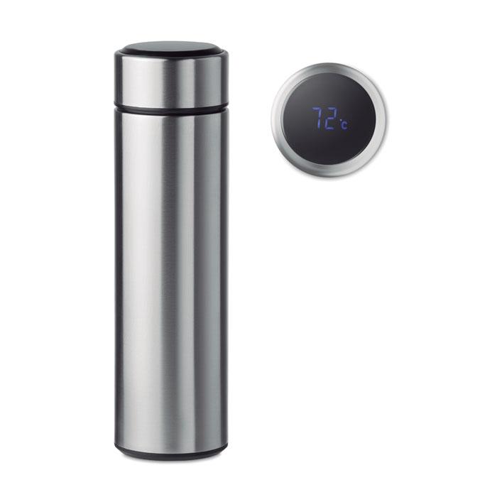 MO9796 - Botella Termo Inteligente de Acero Inoxidable con Infusor y Pantalla LED