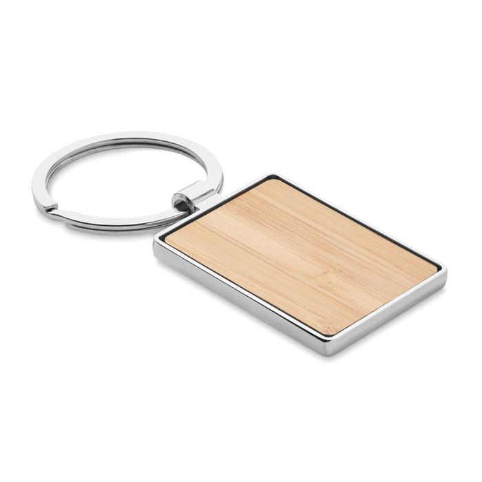 MO9961 - Llavero rectangular y bambú