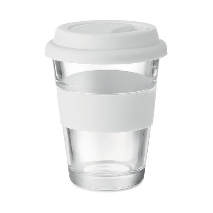 MO9992 - Vaso Ecológico de Vidrio con Tapa de Silicón